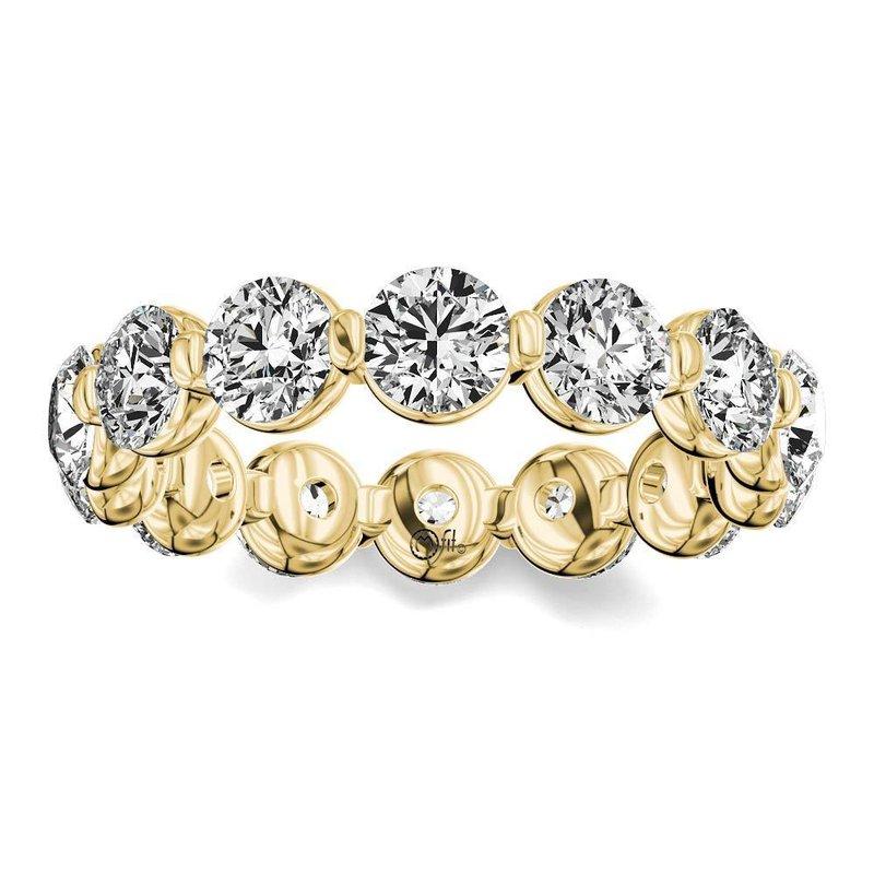 Lasker Bridal Diamond Eternity Band - 2CTTW