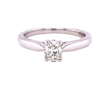 .52ct Oval Diamond Solitaire