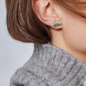 Naga Stud Earring