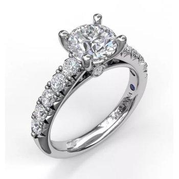 Classic Prong Set Engagement Ring Settings