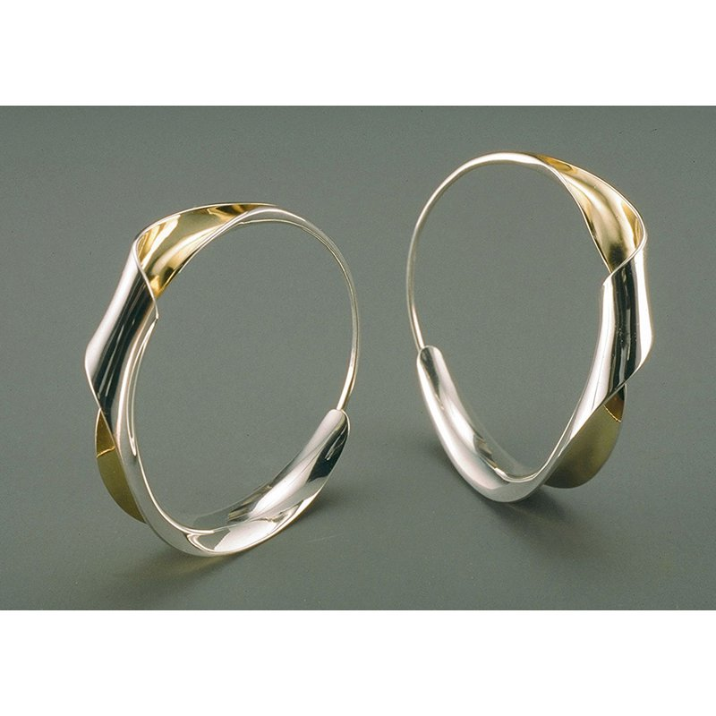 Nancy Linkin Twisted Hoop Earrings