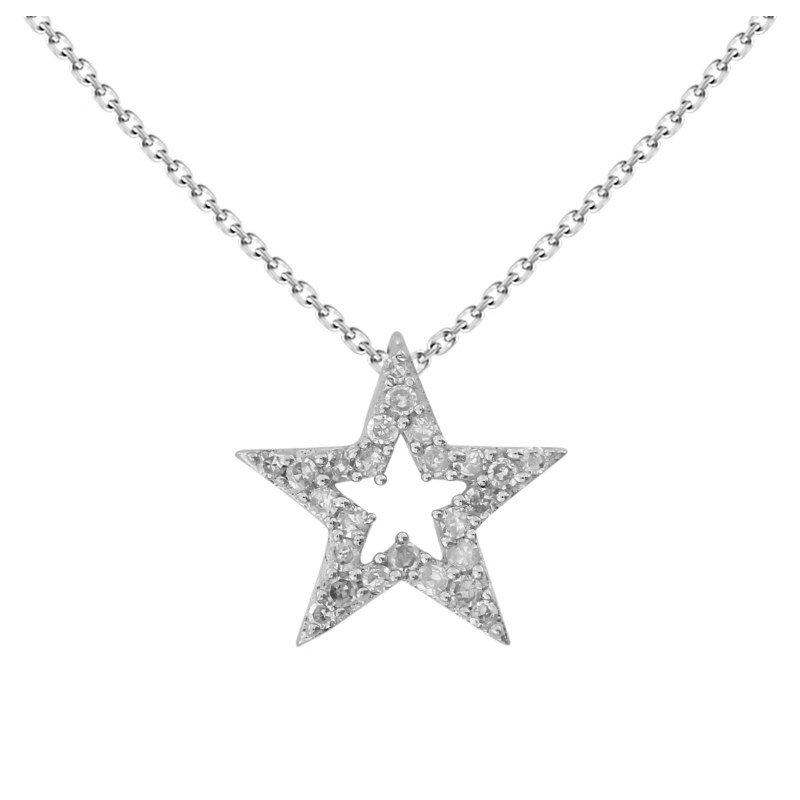 Lasker Diamond Fashion Shining Star Pendant