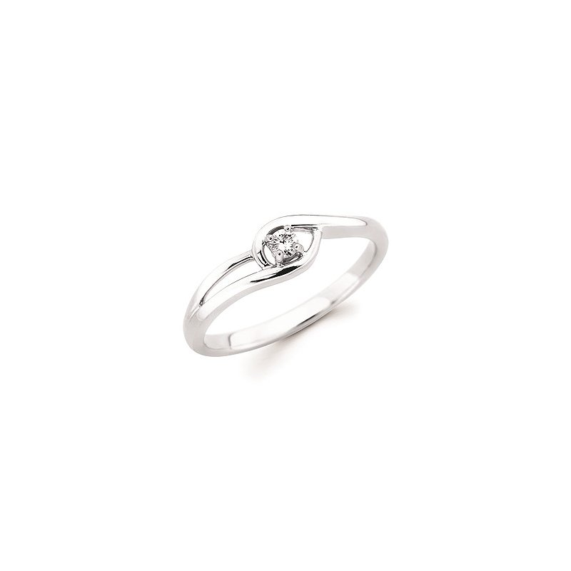 Lasker Diamond Fashion Promise Ring