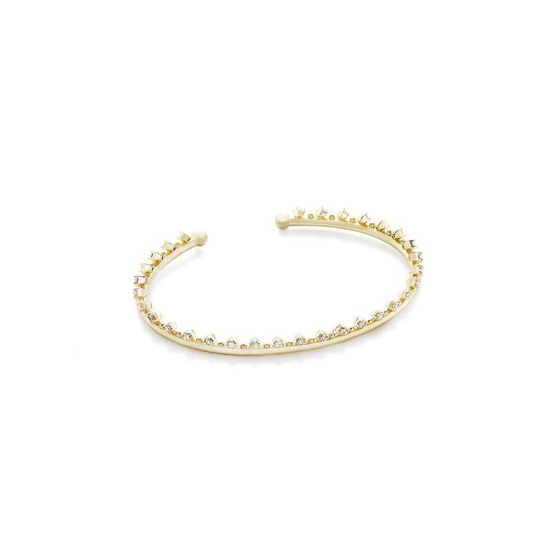 Kendra Scott Codi Pinch Bracelet In Gold