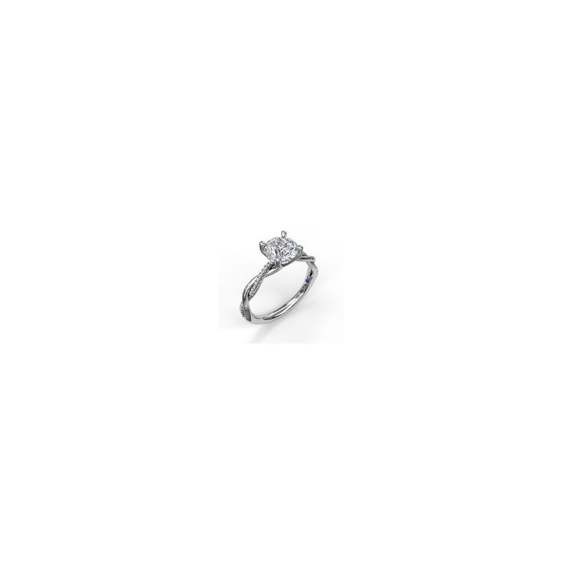 Fana Woven Engagement Ring Mounting