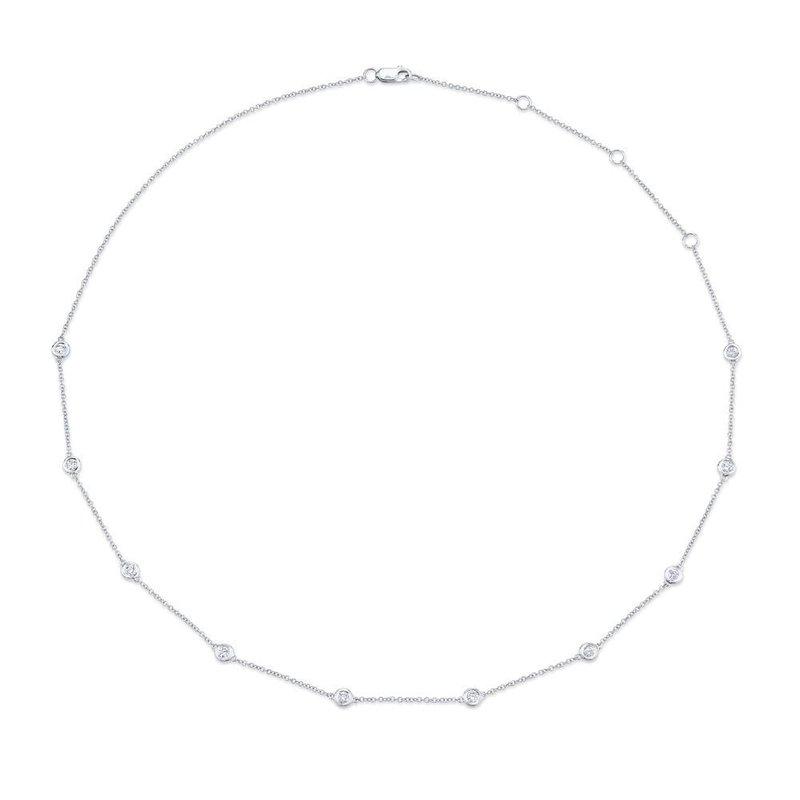 Lasker Diamond Fashion Diamonds-By-The-Yard Necklace - 1/2cttw