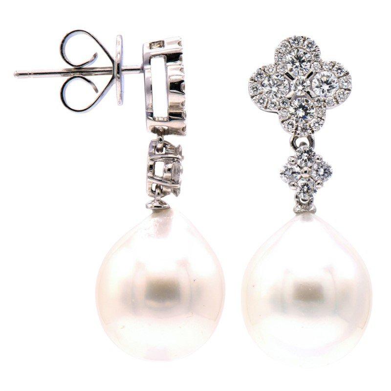 Lasker Pearl Fashion Fancy South Sea Pearl Drop EArrings