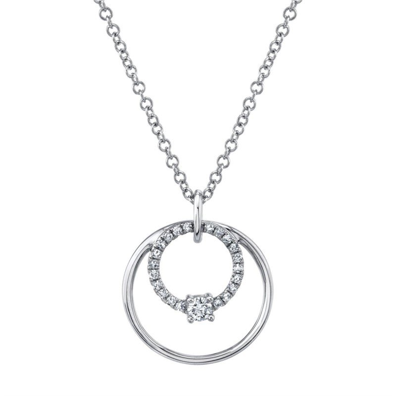 Lasker Diamond Fashion You and Me Diamond Pendant