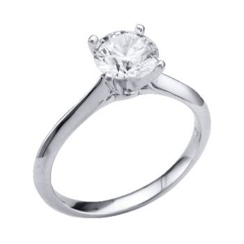 2MM Tapered Knife-Edge Solitaire