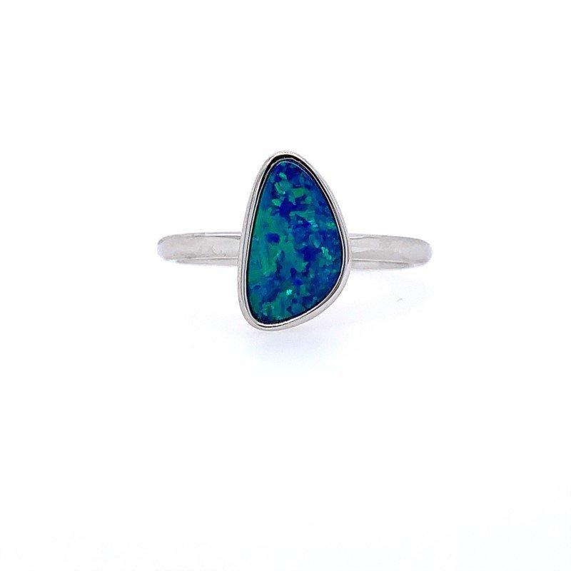Lasker Gemstone OPAL DOUBLET RING