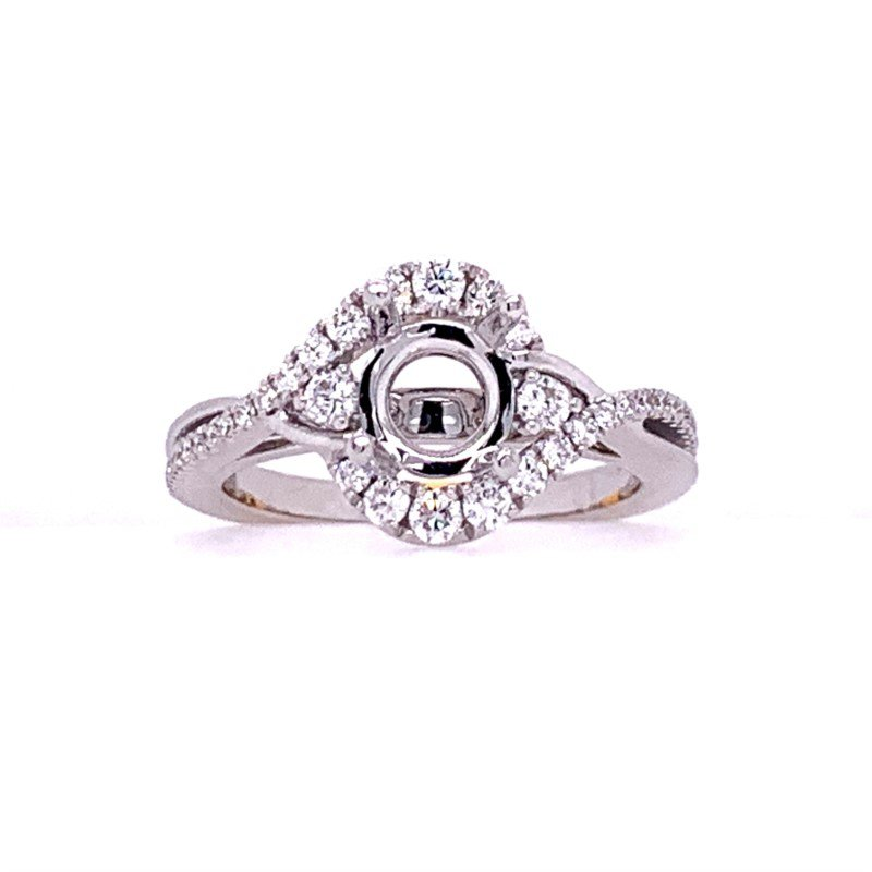Frederic Sage Free Form Ring Setting