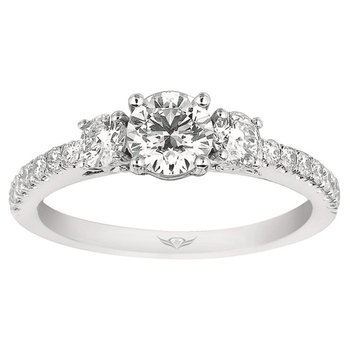Classic 3-Stone Diamond Engagement Ring