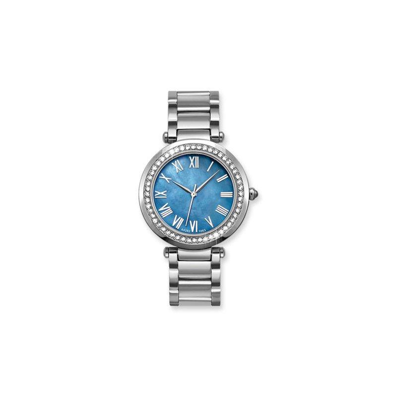 Lasker's Timepiece Collection Lasker Timepiece With Swarovski Crystals