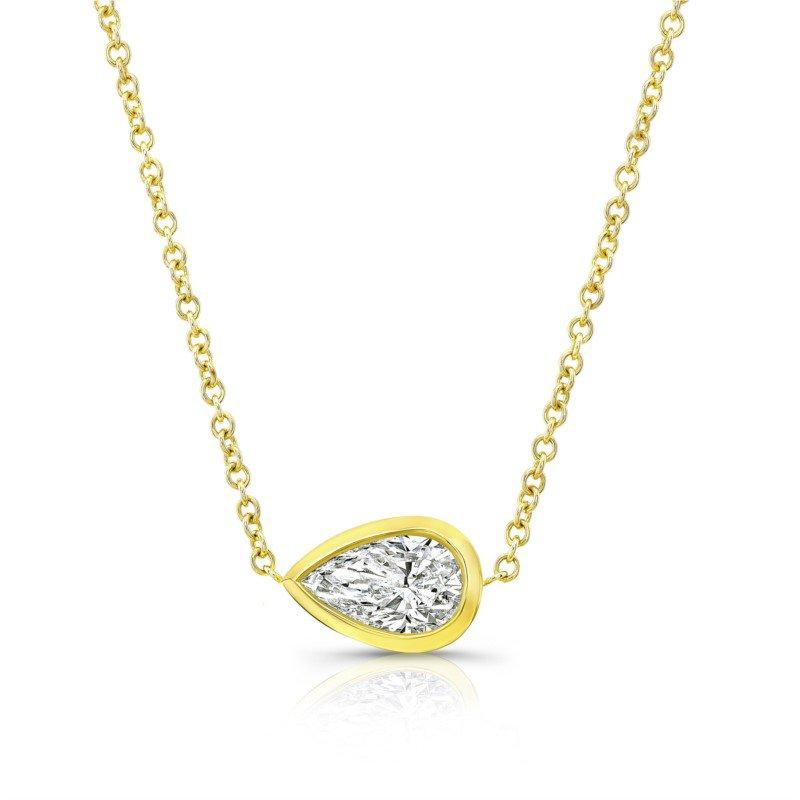 Lasker Diamond Fashion Pear Shaped Diamond Pendant
