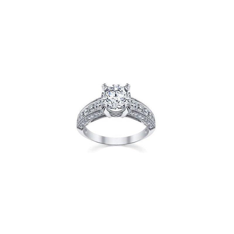Lasker Bridal Vintage Crafted Ring Mounting