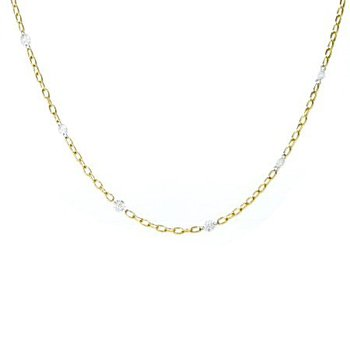 AERO DIAMONDS BY THE YARD NECKLACE