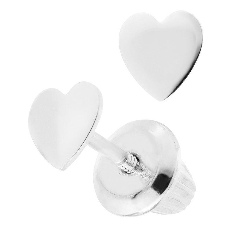 Lasker Signature Heart Earrings