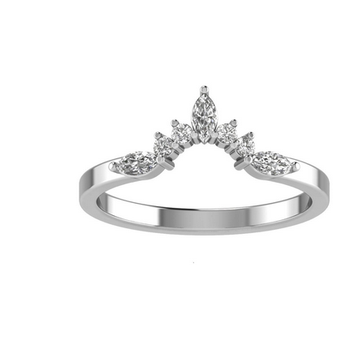 Tiara Collection Ring - 1/3cttw