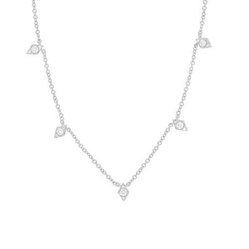 Lasker Diamond Fashion Diamond Station Necklace