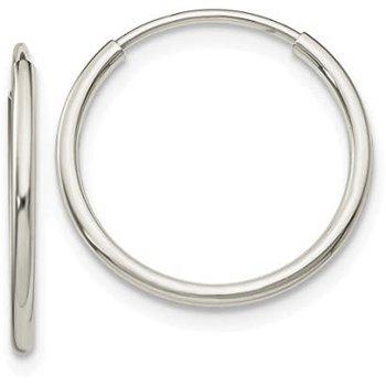 20MM Endless Hoop Earrings