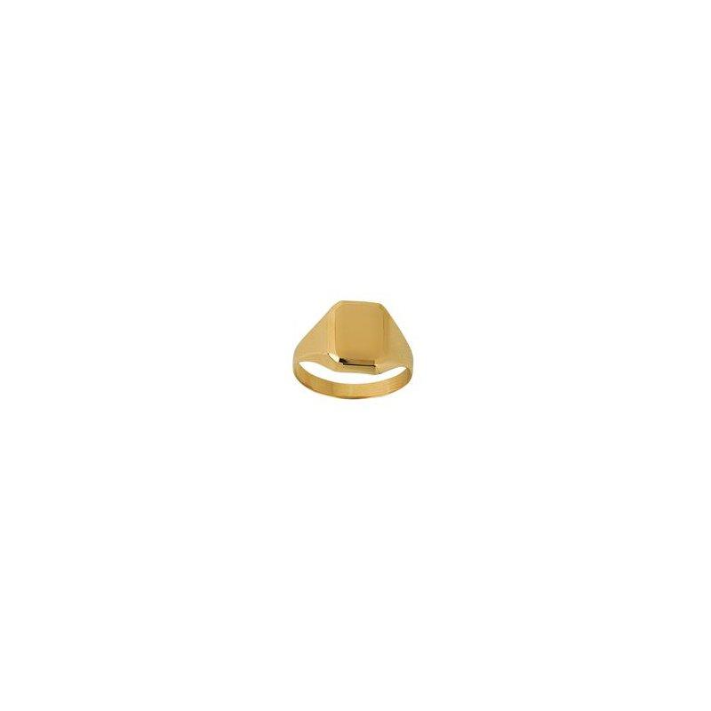 Lasker Gold Fashion 14Kt Signet Ring