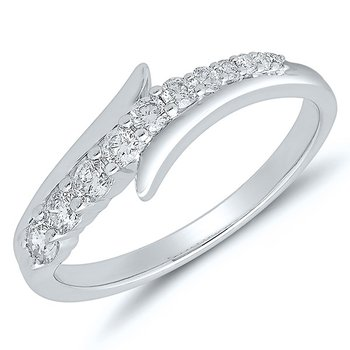 Journey Diamond Ring - White Gold