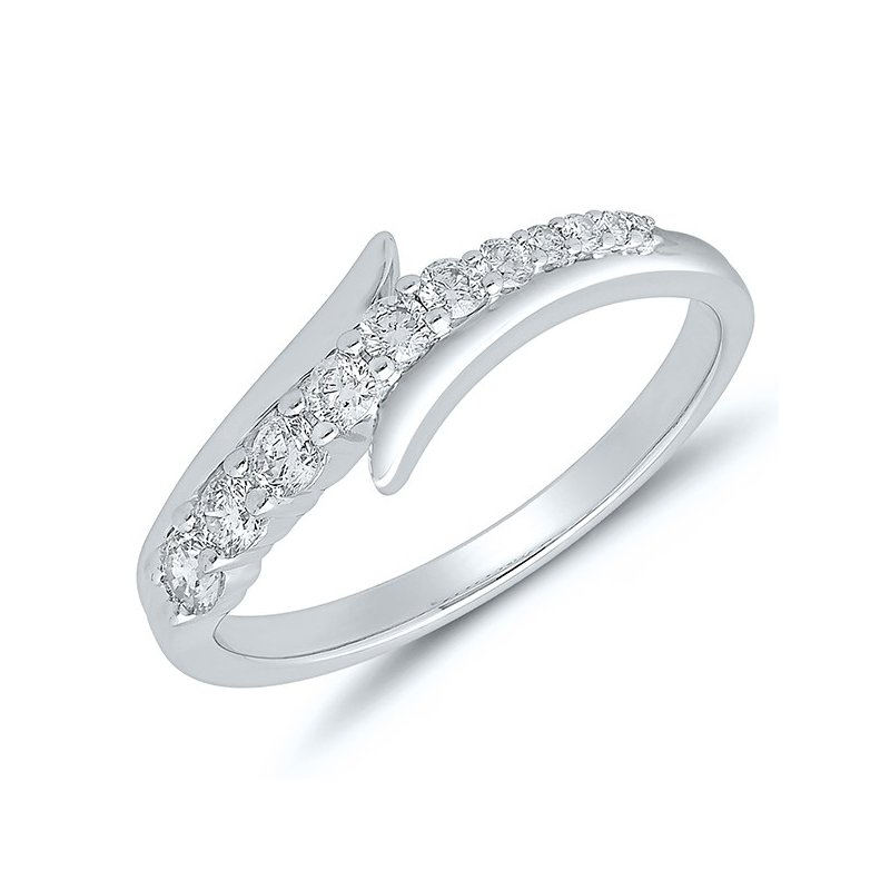 Lasker Diamond Fashion Journey Diamond Ring - White Gold