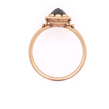 Megan Thorne Cherie Ring - Mogal-Cut Chocolate Diamond