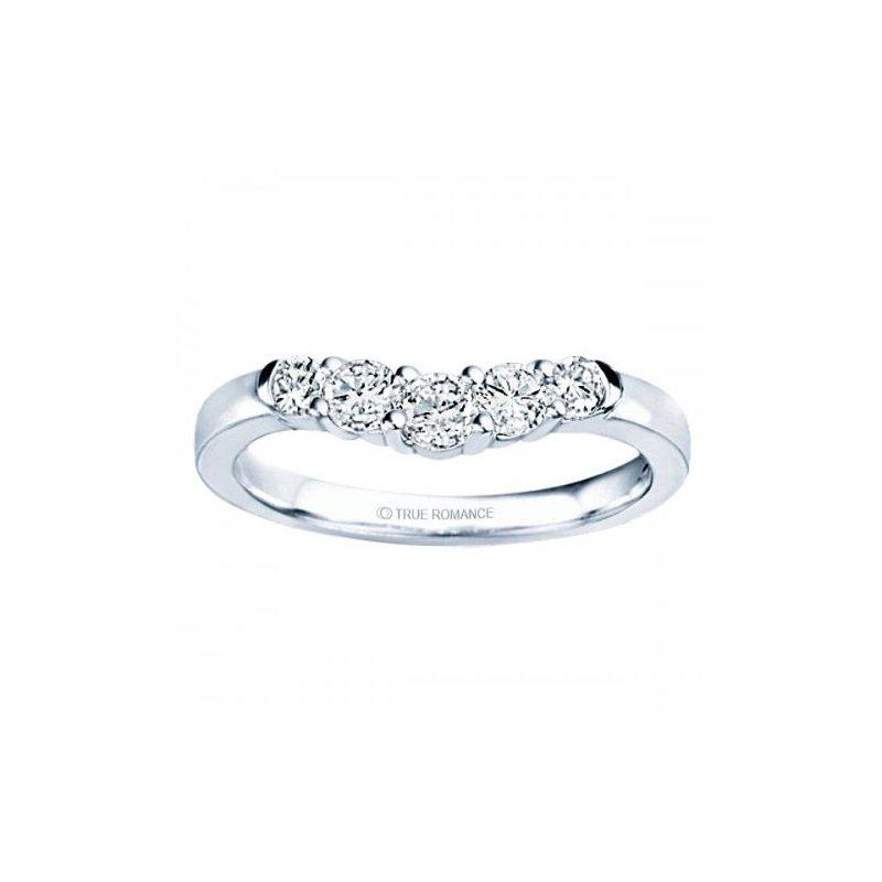 Lasker Bridal Flowing Incendie Ring - 3/4cttw