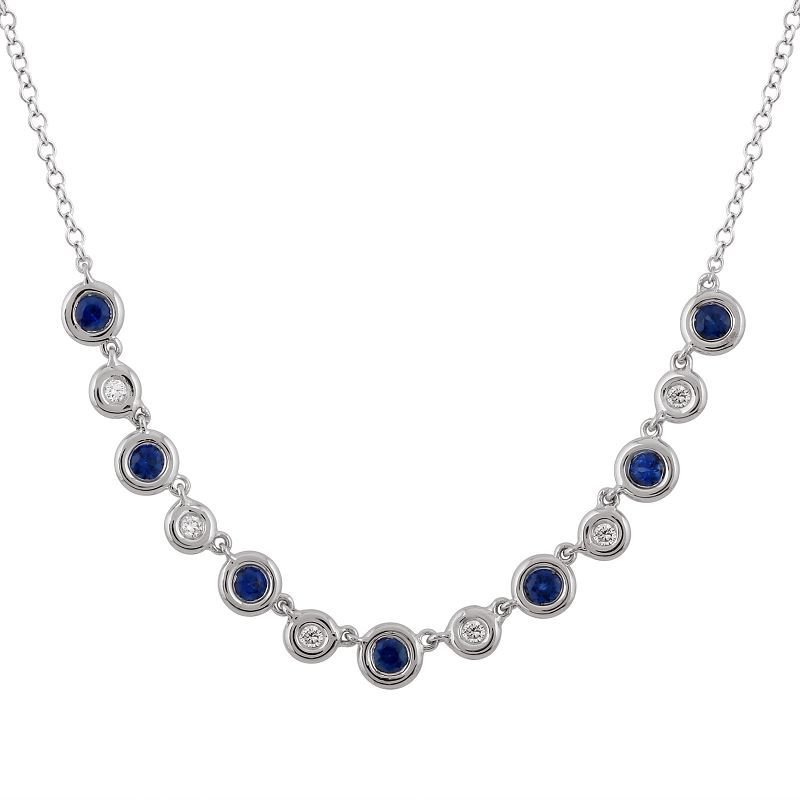 Lasker Gemstone Sapphire Necklace
