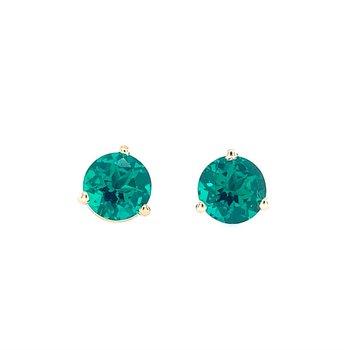 Chatham Emerald Studs