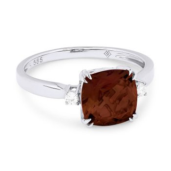 One and Only Garnet Ring