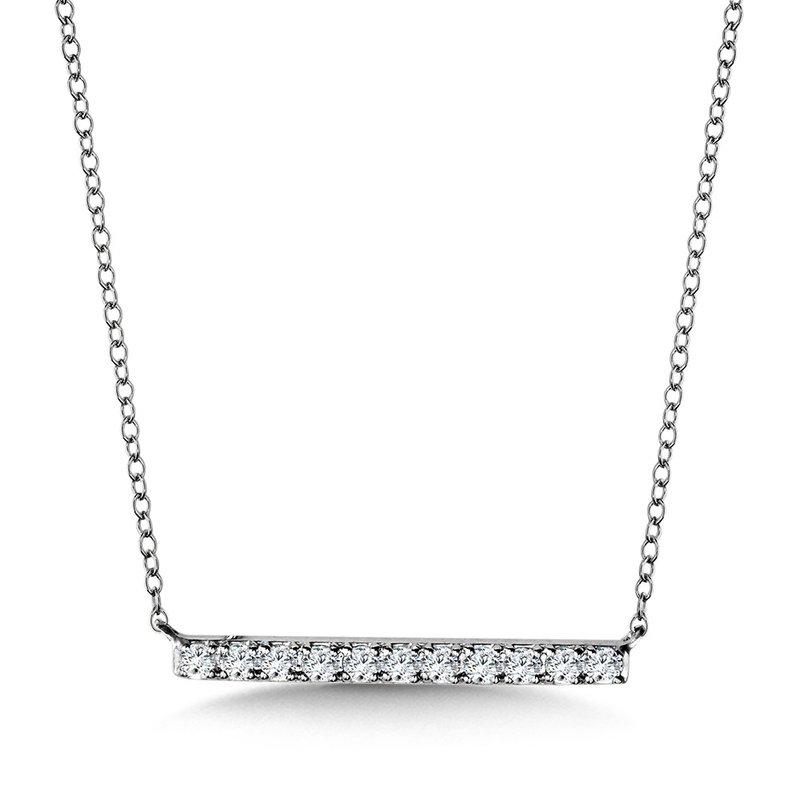 Lasker Diamond Fashion Walk The Line Diamond Pendant