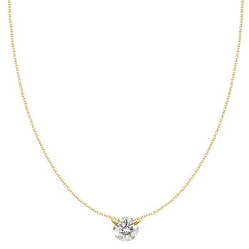 Dancing on Air Diamond Pendant - 1/5CT
