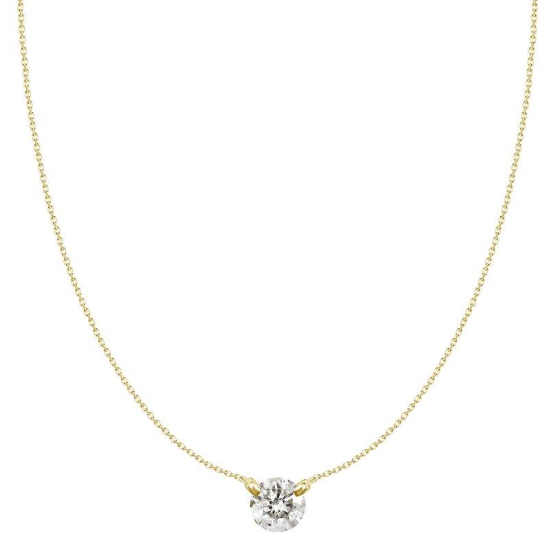Lasker Diamond Fashion Dancing on Air Diamond Pendant - 1/5CT