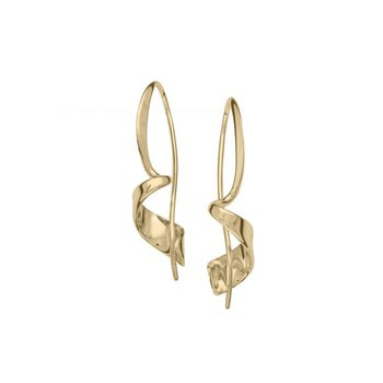Corkscrew Earrings - Small