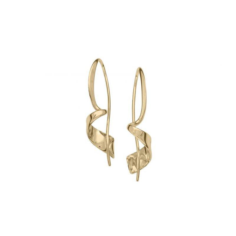 E.L. Designs Corkscrew Earrings - Small