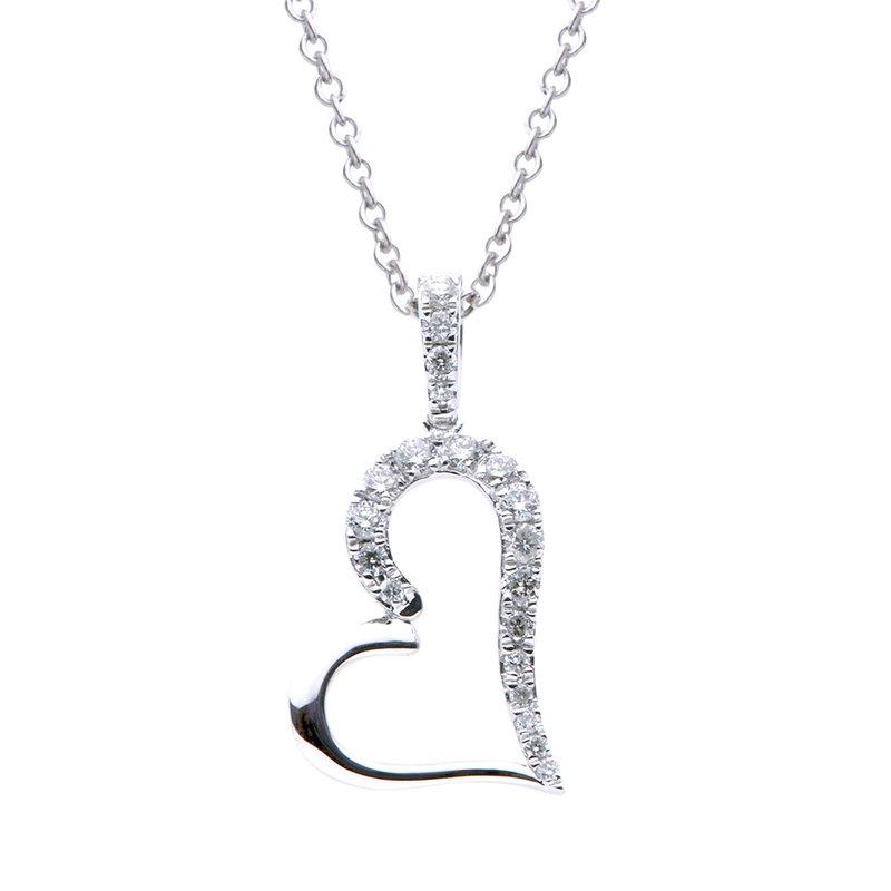 Lasker Diamond Fashion Full Heart Pendant