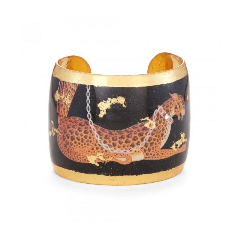 Evocateur Leopard Cuff