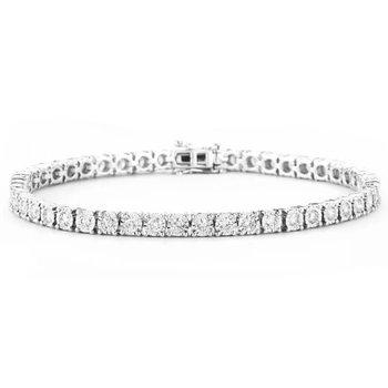 Miracle Set Diamond Bracelet - 1cttw