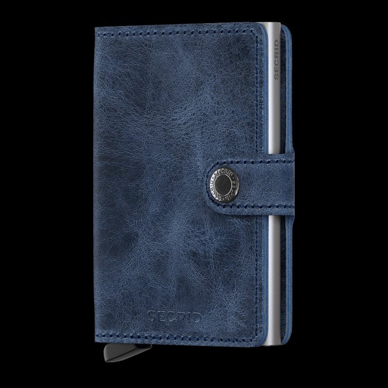 Lasker Signature Miniwallet- Vintage Blue