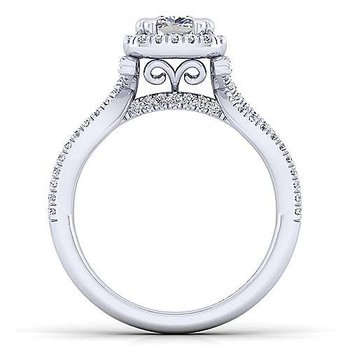 Sonya Ring With Northstar Lab-Crafted Princess-Cut Diamond