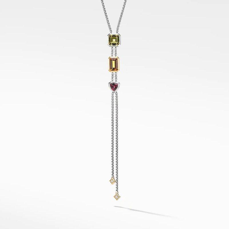 Lasker Gemstone Novella Y Necklace