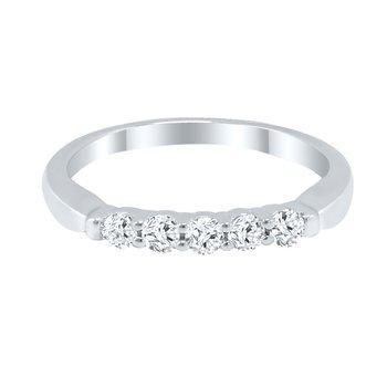 5-Stone Diamond Band - 1ctw