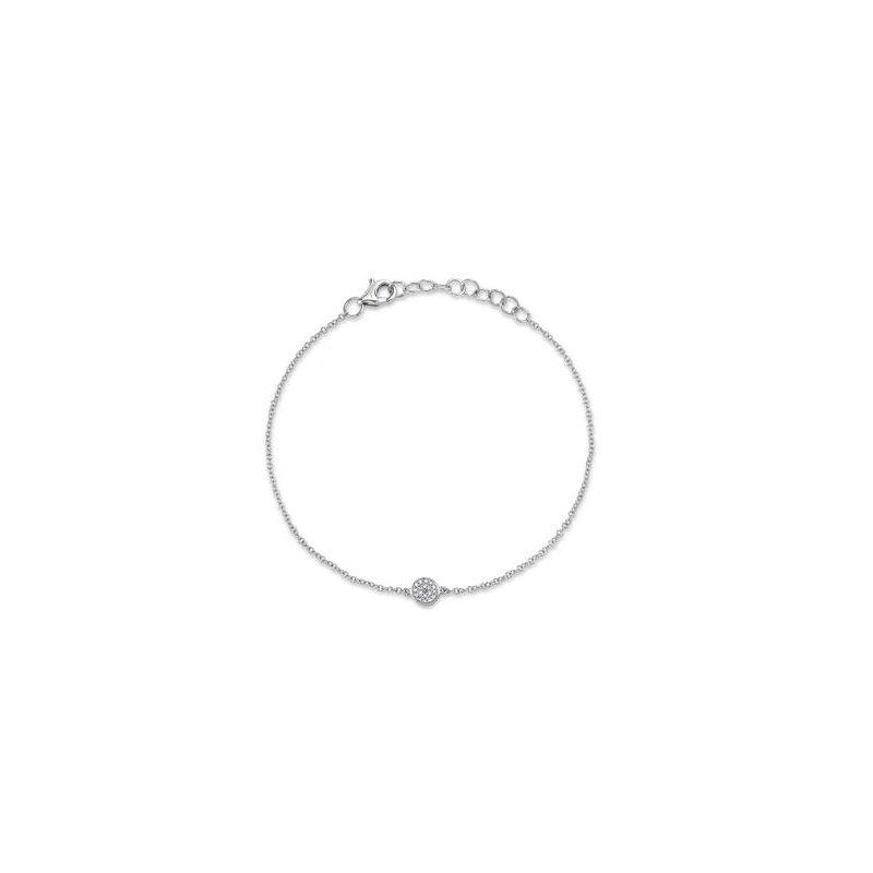 Lasker Diamond Fashion Diamond Disc Bracelet