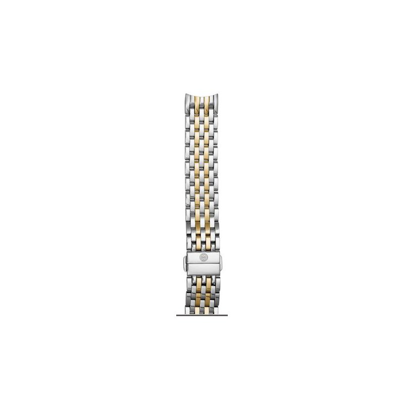 MICHELE 18mm Sidney Two-Tone 7-Link Bracelet