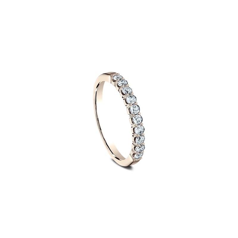 Collage Collection 14K Rose Gold & Diamond Shared Prong Anniversary Band
