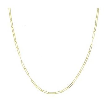 """20"""" Handmade Paperclip Style Chain"""