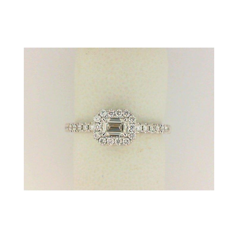 Natalie K 18K White Gold Forevermark FEM Diamond Fashion Ring