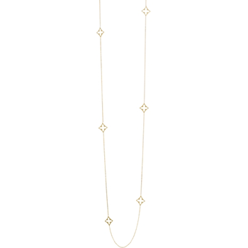 "36"" Long & Lovely Eight Station Necklace"